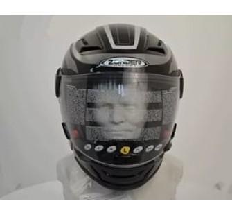 Шлем интеграл  ZONDER-611A Solid Black/TT2