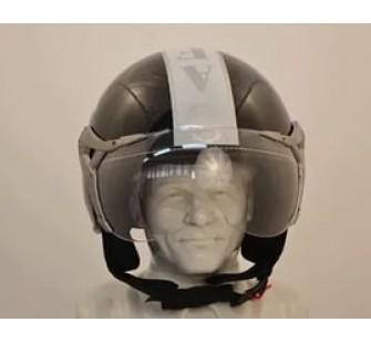 """Шлем открытый """"Safelead"""" LX-225 """"Крутой Пилот""""окраска типа кожа"""