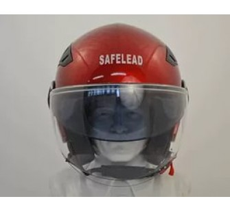 """Шлем открытый """"Safelead"""" LX-256 красный"""