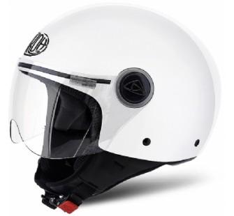 Airoh Открытый шлем Compact Pro белый глянцевый