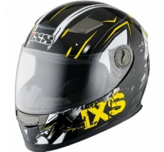IXS Шлем интеграл детский HX 135 Funky черно-желтый