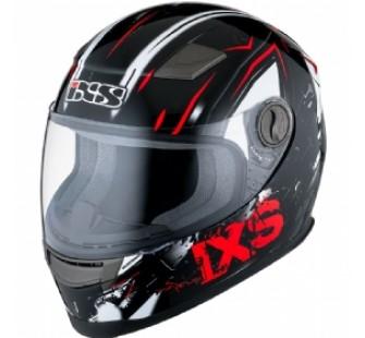 IXS Шлем интеграл детский HX 135 Funky черно-красный