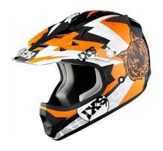 IXS Шлем кросс детский HX278 TIGER оранжевый