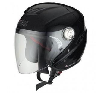 IXS Открытый шлем с большим стеклом HX91 чёрный матовый