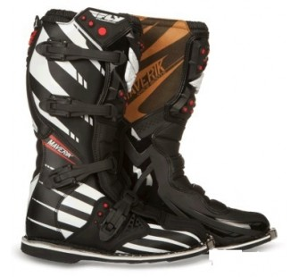 fly racing maverik mx f4 black&white