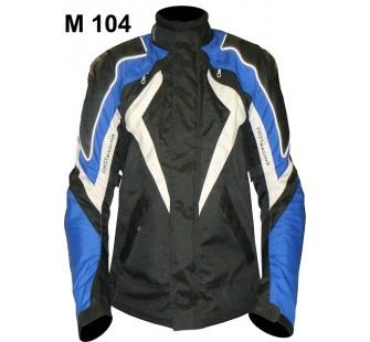 Куртка текстильная FIRST M 104 black&blue