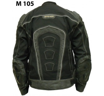 Куртка текстильная FIRST M 105 back black