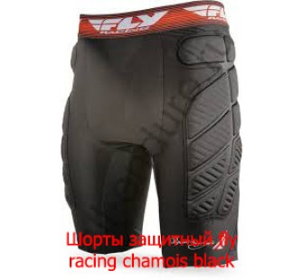 Шорты защитный fly racing chamois black
