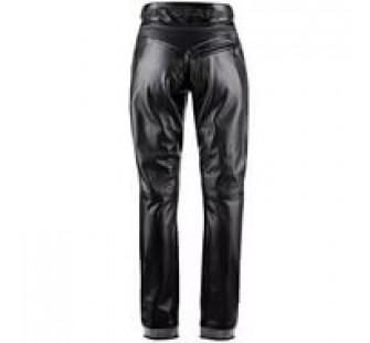 Брюки кожаные женские BELSTAFF CASTLE COMBE TROUSERS black