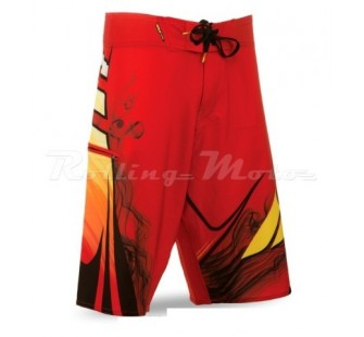 Шорты Fly Racing Board Short red&yellow