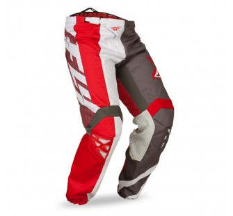 fly racing kinetic division red&white