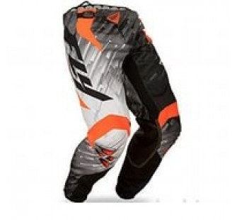 fly racing kinetic glitch black&white&orange