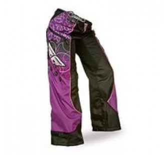 fly racing kinetic lady boot cut black&pink