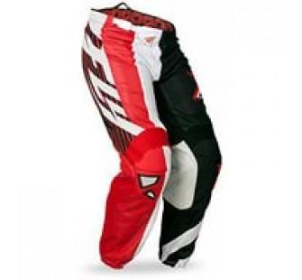 fly racing kinetic mesh black&red
