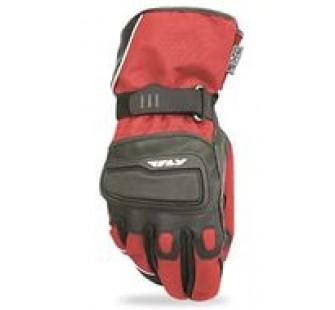 Перчатки зимние Fly Racing Xplore red&black