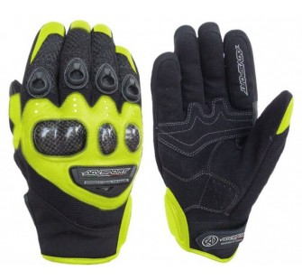 Перчатки кожаные AGVSPORT Jet yellow
