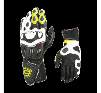 Перчатки кожаные EXUSTAR E-MG163 black&white