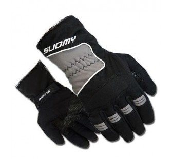Перчатки текстильные женские SUOMY L-TOWN black&grey