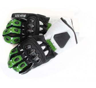 Перчатки FIRST RIDER green&yellow&black
