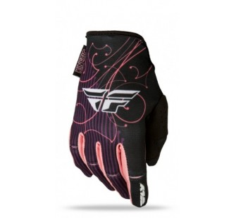 fly racing kinetic lady black&pink