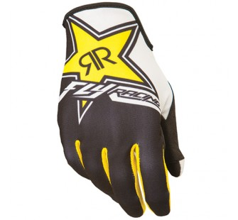 fly racing lite rock star black&yellow&white
