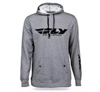 Толстовка с карюшлном Fly Racing corporate grey