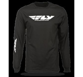 Майка Fly Racing Corporate ls black