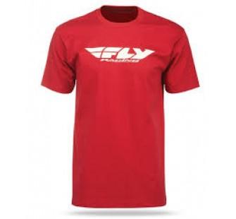 Майка Fly Racing Corporate red