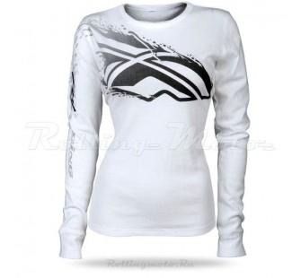 Толстовка Fly Racing inversion white&black