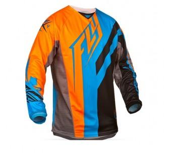 fly racing kinetic division black&blie&orange