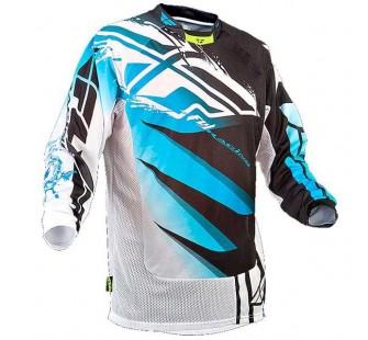 fly racing kinetic mesh vector black&white&blue