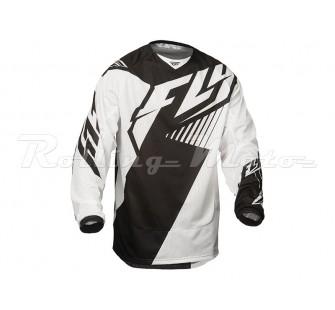 fly racing kinetic mesh vector black&white