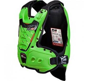 Защита тела с пневмоамортизацией RXR STRONGFLEX green&black