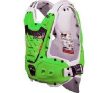 Защита тела с пневмоамортизацией RXR STRONGFLEX green&white