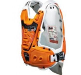 Защита тела с пневмоамортизацией RXR STRONGFLEX orange&white