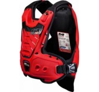 Защита тела с пневмоамортизацией RXR STRONGFLEX red&black