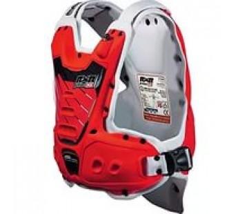 Защита тела с пневмоамортизацией RXR STRONGFLEX red&white