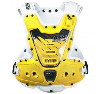 Защита тела с пневмоамортизацией RXR STRONGFLEX white&yellow