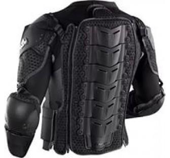 Защита тела THOR IMPACT-RIG SEE S12 back black