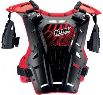 Защита тела THOR S14 QUADRANT black&red