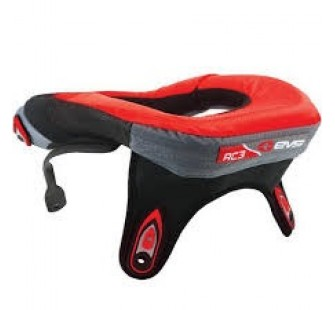 Защита шеи fly racing pro lite carbon neck brace red&black