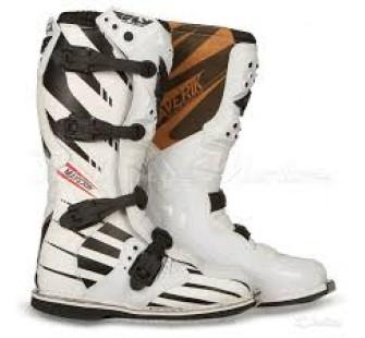 fly racing maverik mx f4 white&black