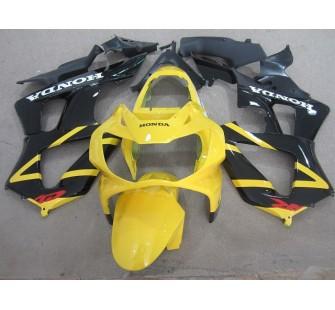 Комплект пластика для мотоцикла Honda CBR929RR 00-01 Желто-Черный Заводской